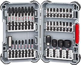 Impact Control Schroefbitset, booropzetstuk, 36-delige accessoireset voor accuschroevendraaier, 23 x schroefbits, 3 x stee...
