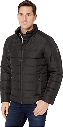 Poly Oxford Puffer w/ Stand Collar