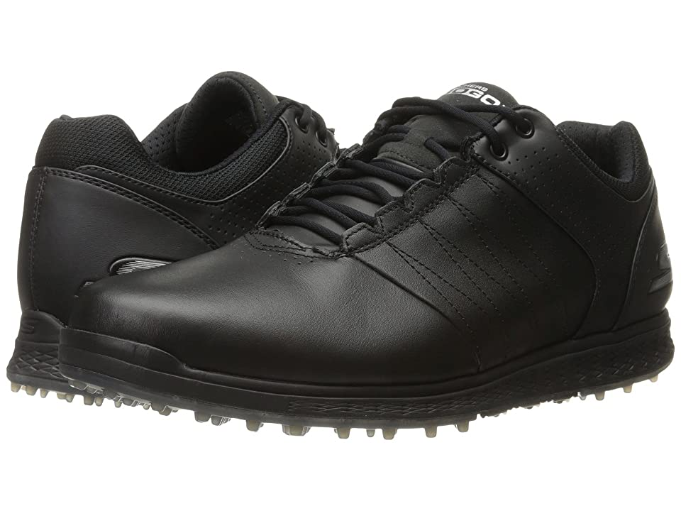 SKECHERS Go Golf Elite 2 (Black/Silver) Men