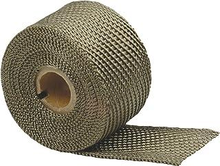 "Design Engineering 010131 Titanium Exhaust Heat Wrap with LR Technology, 2"" x 25' Roll"