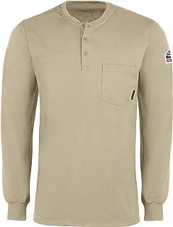 Bulwark Men's Flame Resistant 6.25 Oz Cotton Long Sleeve...