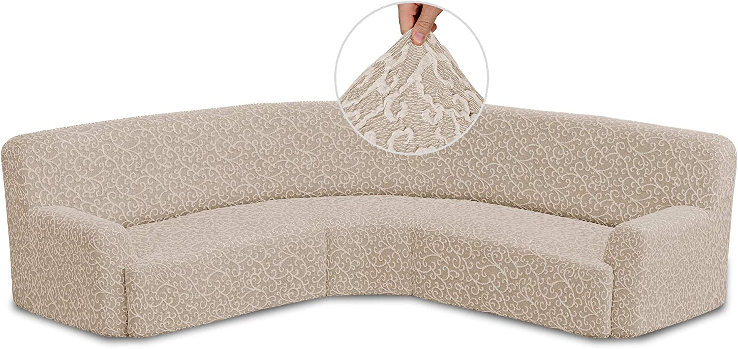 Corner Couch Cover - Sofa Cotton Slipcover Max 50% OFF 5 ☆ very popular Fabric