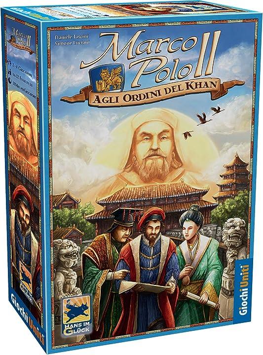 Marco polo ii gioco da tavolo, multicolore, gu660 giochi uniti-