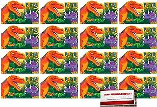 Best dinosaur birthday party invitations printable free Reviews