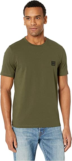 Short Sleeve Tee with Logo Patch