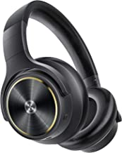 Noise Cancelling Headphones, Cystereo Lava, 40dB Reduction, Hi Res Audio, aptX HD, 40H Playtime, Deep Bass, Multiple Modes...