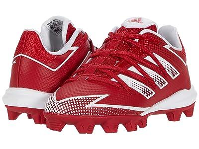 adidas Kids Afterburner 7 MD Baseball (Toddler/Little Kid/Big Kid) (Team Power Red/Footwear White/Team Power Red) Kids Shoes