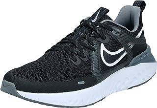 Nike Legend React 2, Women's Road Running Shoes, Black (Black/White-Cool Grey-Metallic Cool Grey)