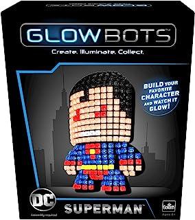 Goliath DC Glowbot Superman, Multicolor