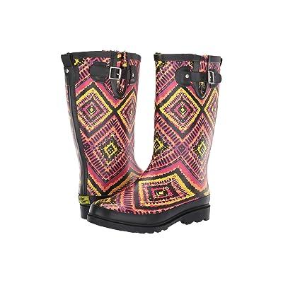 Western Chief Kaleidoscopica Rain Boot (Black) Women