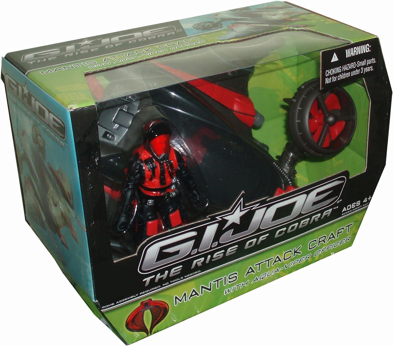 G.I. Joe Mantis Attack Craft with Aqua Viper Officer - The Rise of Cobra - Actionfigur von Hasbro
