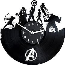 secondlifeforvinyl Avengers Vinyl Record Clock