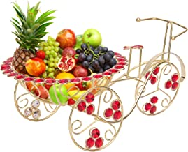 NUHA Cycle Style Fruit Basket/Rickshaw/Cart for Fruits and Flowers, Home Decoration, Home Decor, Return Gift, Gifting, Birthday –Standard