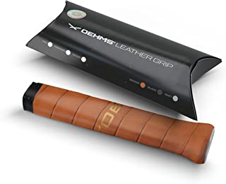 OEHMS Pro Leather Tennis Grip | Adhesive Replacement Grip | Made in Germany