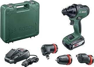 Bosch batteriborr AdvancedDrill 18 set (med batteri, 18 volts system, 3 delar, i väskan)