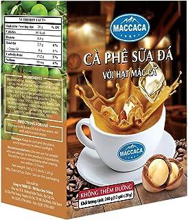 Maccaca Condensed Milk Coffee No Sugar, 240 g