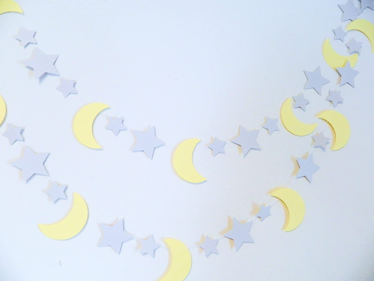 Star and Max 78% OFF Moon Baby Shower Decorations G Gray Yellow - Stars service