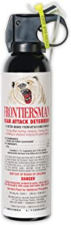 SABRE Frontiersman Bear Spray 9.2 oz (Holster Options & Multi-Pack Options) —..