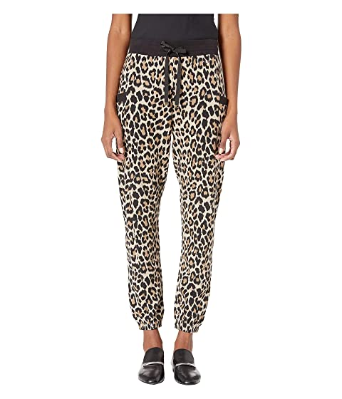 Kate Spade New York Athleisure Dashing Beauty Leopard Terry Jogger