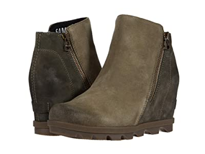 SOREL Joan of Arctic Wedge II Zip (Sage) Women