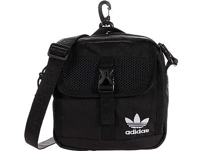 adidas Originals Originals Large Festival Crossbody (Black) Handbags