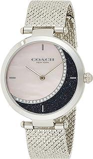 Coach Womens Quartz Wrist Watch, Gray Stainless Steel - 14503653