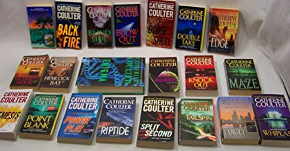 Catherine Coulter's Complete FBI (set 21 vol)Cove,Backfire,Blowout,Bombshell,Doubletake,Edge,E11thHour,Enigma,HemlockBay,Insidious,Knockout,Maze,Nemesis,PointBlank,PowerPlay...rest in description