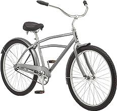 Schwinn Mikko & Huron Adult Beach Cruiser Bike, Featuring Steel Step-Over or Step Through Frames, 1, 3, 7-Speed Drivetrain...