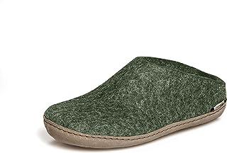 glerups dk B Slipper Unisex-Adulto Zapatillas de Fieltro,Pantufla, Verde (Forest),44 EU