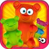 3D HD Colorful Graphics Amazing Fun Music and Sound Effects! 18 Different Flavors & 6 Different Gummy Molds! More than 150 Decoration Items! Colorful Candies and Funny Eyes, Lips, Bows and Even Spiders! Thousands of Possibilities, Just Need your Crea...