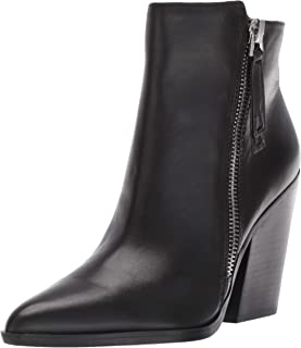Naturalizer Women's Bootie Ankle Boot, Black Leather, 4.5 M