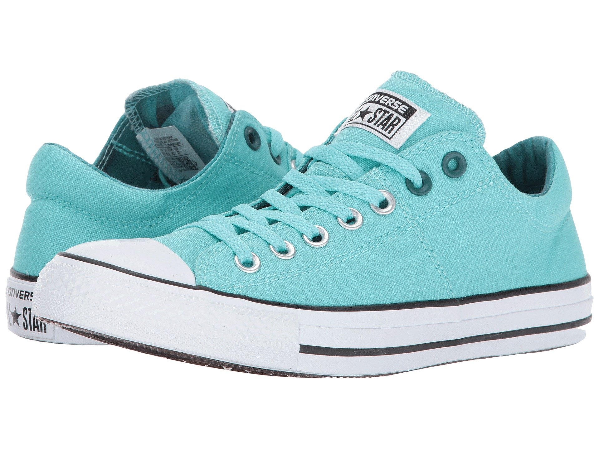 Converse Chuck Taylor All Star Madison Geometric - Ox In Light Aqua  Black White 4b3fe526ef8