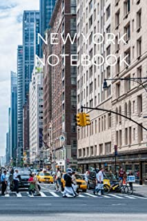 New York Notebook: 120 Lined Pages 6x9 NewYork Journal