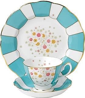 Royal Albert 3 Piece 100 Years 1930 Teacup, Saucer & Plate Set, 8