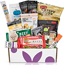 KETO Snacks care package: Ultra Low Carb (5G Or Less) Low Sugar (2G Or Less) High Fat Ketogenic Diet Snacks, Keto Bars, Cookies, Keto Jerky & Pork Rinds, Perfect Keto Gift Basket