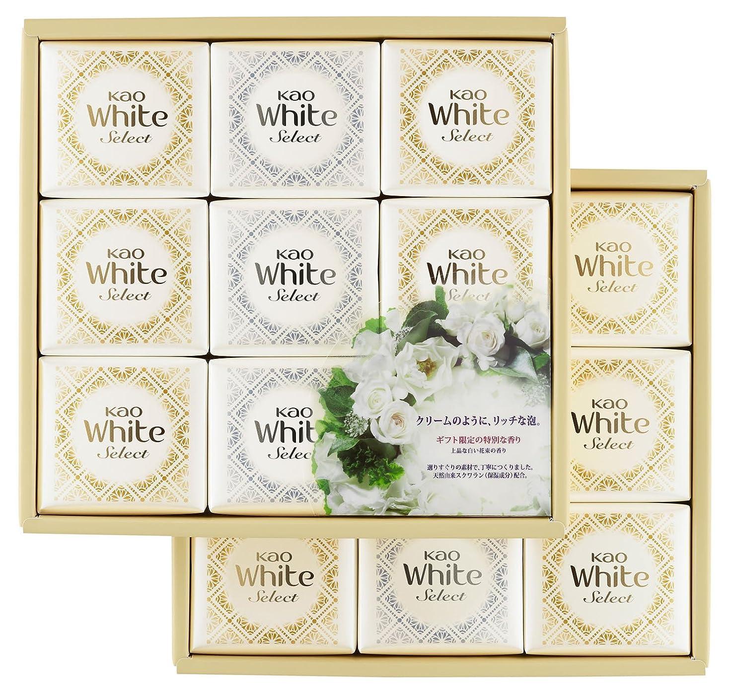 道路性的シャンプー花王ホワイト セレクト 上品な白い花束の香り 85g 18コ K?WS-30