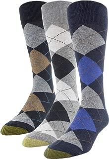 Gold Toe Men's Carlyle Argyle Crew Socks , 3 Pairs