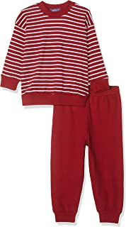 Pijama niños entretiempo rayas 100% algodón orgánico