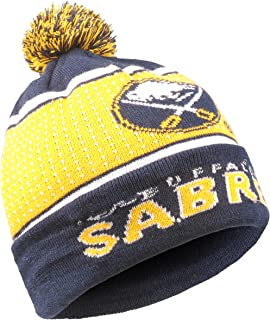 Forever Collectibles NHL Buffalo Sabres Big Logo Knit Light Up Beanie Hat