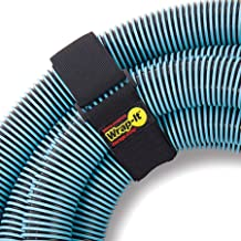 """Wrap It Super-Stretch Storage Straps (24"""" 4 Pack) - Elastic Hook & Loop Cinch Strap Organizer for Extra Large Electrical C..."""