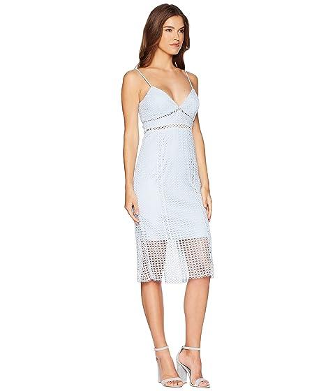 Vestido Azul Bardot Acero de Circle encaje 77fq0