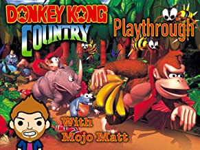 Donkey Kong Country Playthrough With Mojo Matt