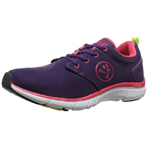 Zumba Womens Fly Fusion Athletic Dance Workout Sneakers with Compression Cushioning
