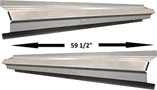 1986-01 Cherokee (XJ Series) and Wagoneer (Midesize) 4DR Outer Rocker Panels (Pair)