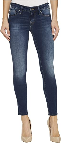 Alexa Mid-Rise Skinny Ankle in Mid Soft Shanti