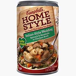 Campbell'sHomestyle Healthy Request Italian-Style Wedding Soup, 18.6 oz. (Pack of 12)