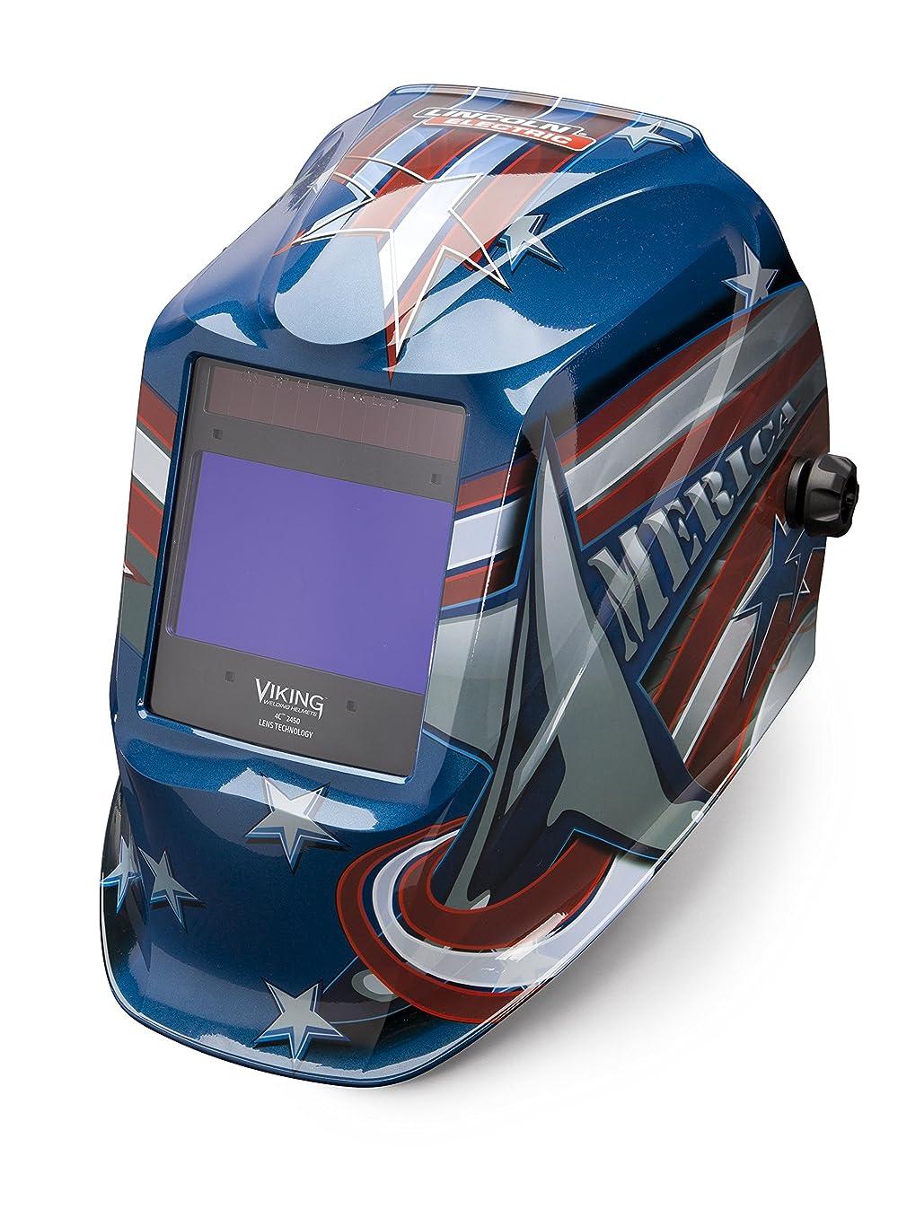 割合陰謀着服Lincoln Electric VIKING 2450 All American Welding Helmet with 4C Lens Technology - K3174-3 by Lincoln Electric