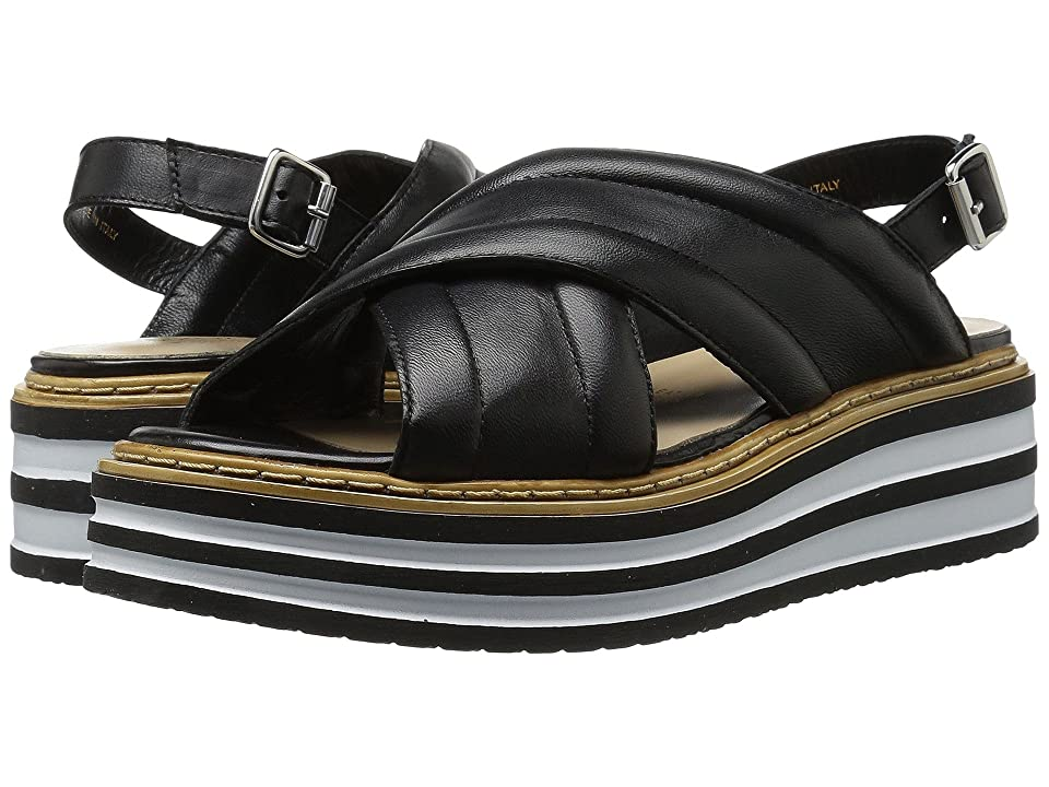 Summit by White Mountain Leanna (Black Leather) Women