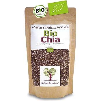 Bio Chia Samen in geprüfter Bio-Qualität (DE-ÖKO-022) (500g)