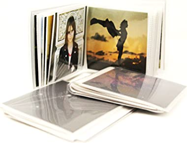 4 x 4 Square Format Photo Albums for Social Media Pack of 3, Each Mini Album Holds Up to 48 4x4 Photos. Flexible, Removable C